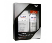 Eucerin Men Pack Regalo Navidad Intense Anti -Age 50 Ml + Espuma De Afeitar 150 mL