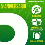 OFERTAS FLASH 5 ANIVERSARIO