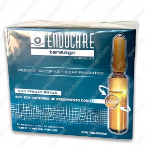 Endocare Tensage 20 Ampollas 2ml