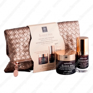 Apivita Pack Navidad Queen Bee Light + Queen Bee Eye Cream