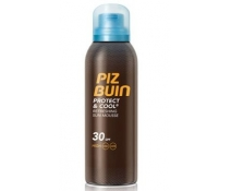 Piz Buin Protect & Cool Mousse Solar Refrescante SPF30 150Ml NUEVO