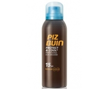 Piz Buin Protect & Cool Mousse Solar Refrescante SPF15 150Ml NUEVO