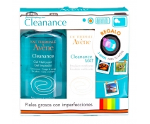 Avene Cleanance Gel Limpiador 200 Ml + Cleanance Mat Emuslsion Matificante 40 Ml + REGALO 3 Lentes P