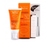 Avene Solar Spf 50+ Crema Color 50ml REGALO Mascara de Pestañas