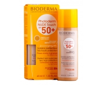 Bioderma Photoderm Nude Touch Spf 50+ 40 Ml Tono Claro