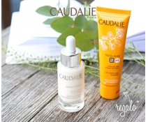 Caudalie Coffret Sérum Vinoperfect 30 ml+ REGALO Soleil Divine Spf50 40 ml pack BRONCEADO PERFECTO