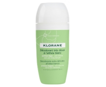 Klorane Desodorante al extracto de Altea Blanca Roll-on 40 M