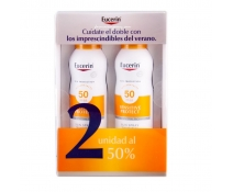 Eucerin Sun SPF50 Spray Dry Touch DUPLO 200 Ml