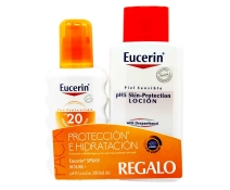 Eucerin Sun Spf 20 Spray 200 Ml regalo ph5 Eucerin Locion 200ml
