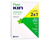Fluor Kin Anticaries Colutorio 500 Ml  DUPLO (2X1)