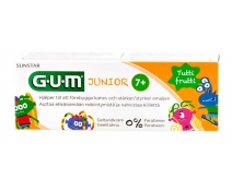 Gum Junior Gel Dentifrico +7 Años 50 Ml