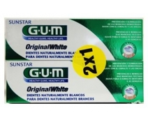 Gum Original White Pasta Pack 2x75ml