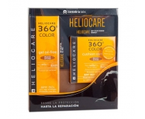 Heliocare 360 Pack BRONZE INTENSE Gel Oil Free SPF 50+, 50ml+ Compact Spf50 15g