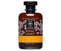 Apivita Royal Honey Gel De Ducha Cremoso Con Aceites Esenciales Con Miel 300 Ml