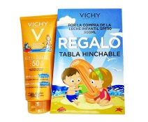 Vichy Ideal Soleil Spf 50+ NiÑos Leche 300 Ml + REGALO TABLA HINCHABLE