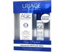 Uriage Pack Regalo AGE Protect Crema Multiacción Barrera Luz Azul Airless 40 Ml + Serum Age Protect