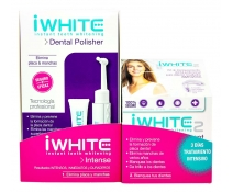 iWhite Intense Dental Cepillo Pulidor Polisher Elimina Placa y Manchas+ Tratamiento Intensivo 3 Dias
