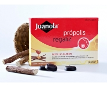 Juanola Propolis Regaliz 24past