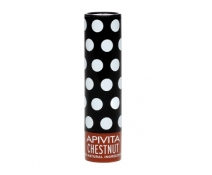 Apivita Lip Care Con Castaña Ligero Color Chocolate 4,4 Gr