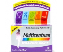 Multicentrum Mujer Select 50+ 30 Comprimidos