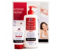Neutrogena Intense Repair Pack Body Lotion + Crema de manos