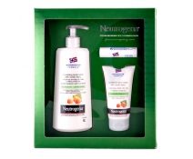 Neutrogena Pack Nordic Berry. Body Lotion+Crema de Manos+Labial