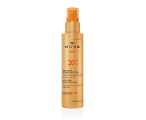 Nuxe Sun Leche Corporal y Facial en Spray SPF 20 150Ml