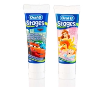 Oral B Pasta Dental Infantil Stages 3 Princesas Disney / Cars 75ml