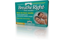 Tiras Nasales Breathe Right Mentoladas Grandes 8