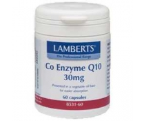 Lamberts Co-q10 30 Mg 60 Capsulas