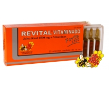 Revital Vitaminado Forte 1500mg Jalea Real. 20 amp.