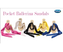 Dr Scholl Party Feet Pocket Ballerina Sandals- Sandalias de Bolsillo