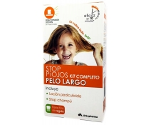 Stop Piojos Kit Pelo Largo. Gel pediculicida + Champú