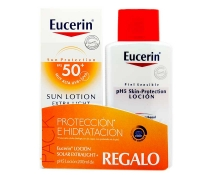 Eucerin Sun Locion Extralight Spf50 150ml + REGALO pH5 Locion 200ml