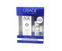 Uriage Pack Regalo AGE Protect Fluido Multiacción Barrera Luz Azul Airless 40 Ml + Serum Age Protect